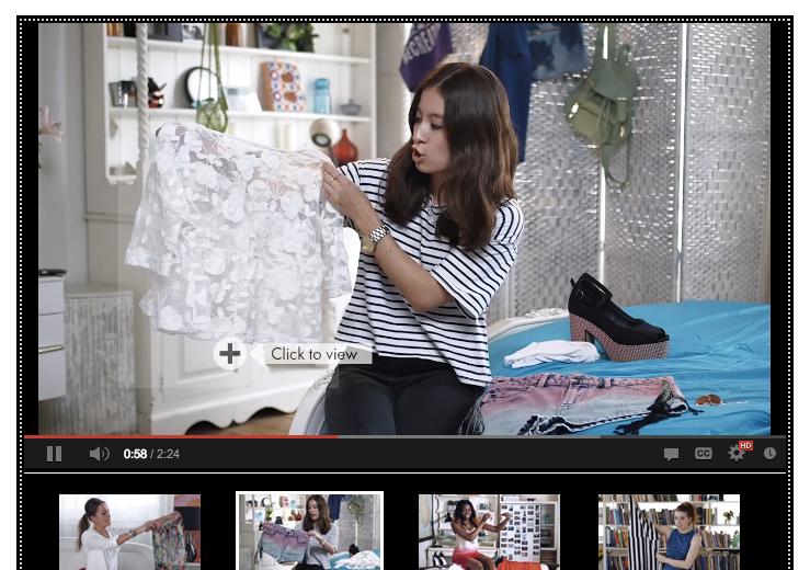 asosが見事にyoutubeのショッパブルビデオを使いこなして動画ショッピングを実践