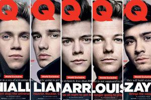 英GQの表紙にワン・ダイレクション〜One Direction for British GQ〜