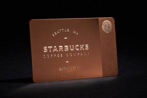 スターバックス×GILTの限定ローズメタルカードが即完売〜Starbucks x Gilt The Limited-Edition Metal Starbucks Card〜