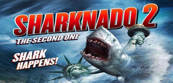 コメディホラーTV映画「シャークネード2:ザ・セカンド・ワン」予告編が公開 – Sharknado 2: The Second One –