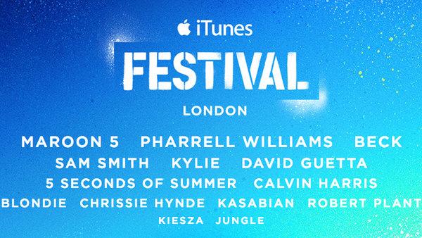 カルヴィン・ハリス、ファレル・ウィリアムス出演!iTunesフェスティバル ロンドン 2014 iTunes FESTIVAL LONDON 2014 開催中!