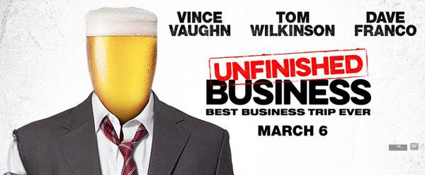 ヴィンス・ヴォーン主演、コメディ映画「アンフィニッシュド・ビジネス」Unfinished Business予告編が公開
