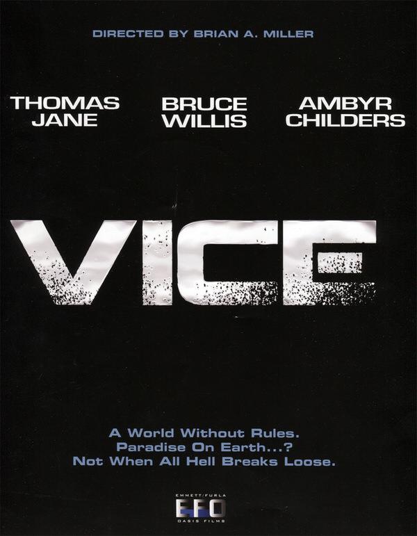 ブルース・ウィリス出演、映画「ヴァイス」VICE予告編が公開
