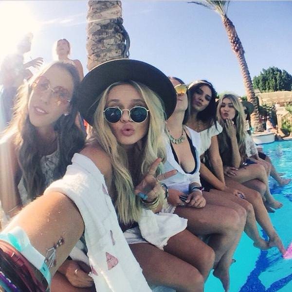 コーチェラ2015フェスファッション セレブに学ぶ着こなし Coachella 2015