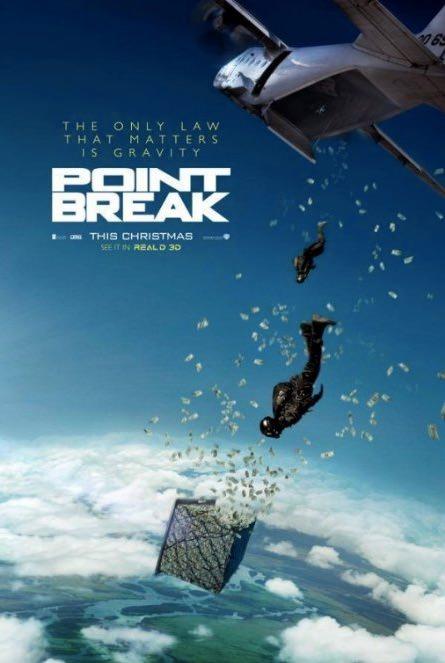 アクション映画「Point Break」91年公開の「ハートブルー」をリメイク