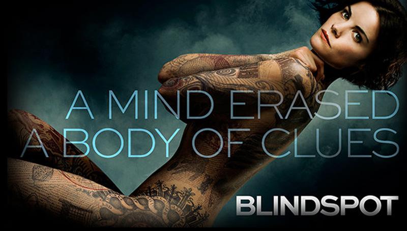 海外ドラマ「ブラインドスポット」Blindspot バッグから記憶を消された全身タトゥー女が!