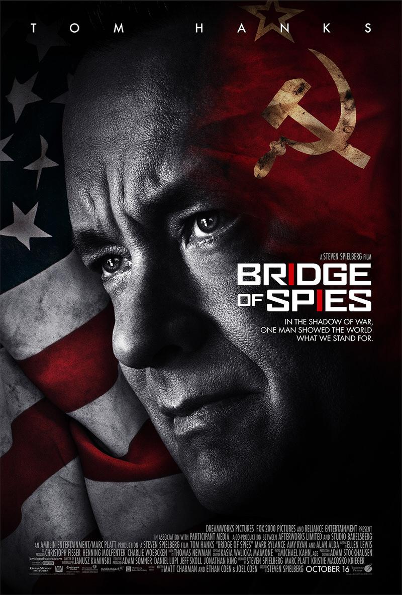 1/8公開 映画「Bridge of Spies」ブリッジオブスパイ スピルバーグ監督