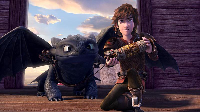 アニメ「Dragons: Race to the Edge」ヒックとドラゴンの新作がNetflixに登場