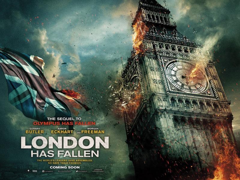 アクション映画「London Has Fallen」エンド・オブ・ホワイトハウス続編
