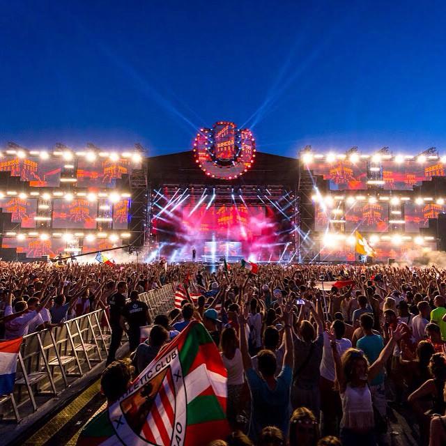 日・月曜 ライブ配信 ウルトラヨーロッパ Ultra Europe 2015