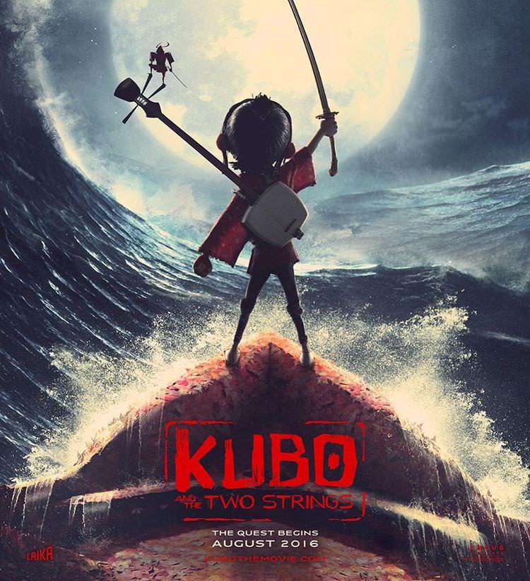 映画 クボと二本の弦 Kubo and the Two Strings 日本が舞台のストップモーションアニメ