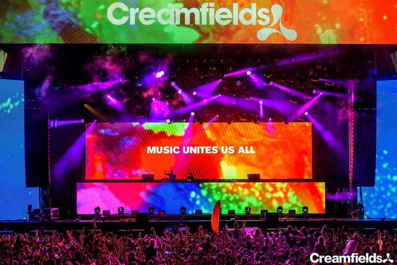 Creamfields 2016 出演ラインナップ UK最大のEDMフェス!