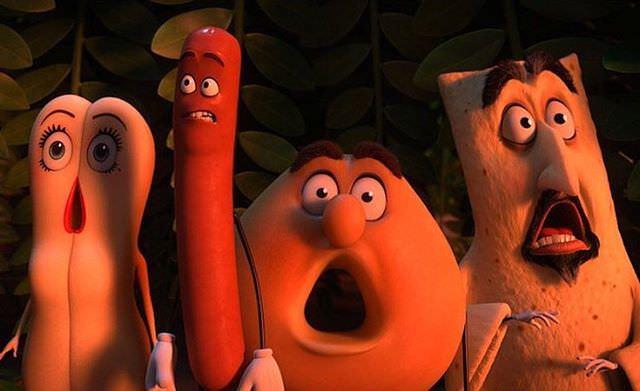 アニメ映画 Sausage Party ソーセージパーティー 食べられちゃう恐怖