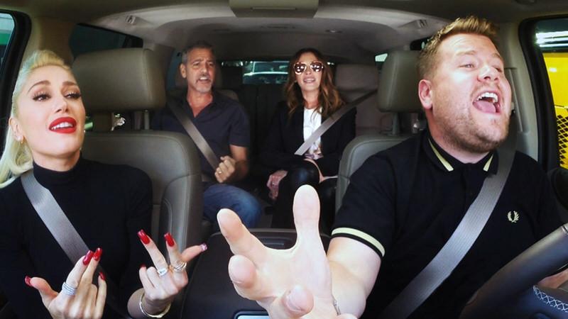 グウェン・ステファニーがジョージ・クルーニーとジュリア・ロバーツと車中カラオケ!