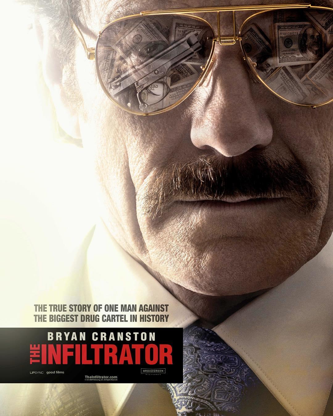 映画 The Infiltrator ザ・インフィルトレーター 麻薬王パブロ・エスコバルとの戦いを描いた実話