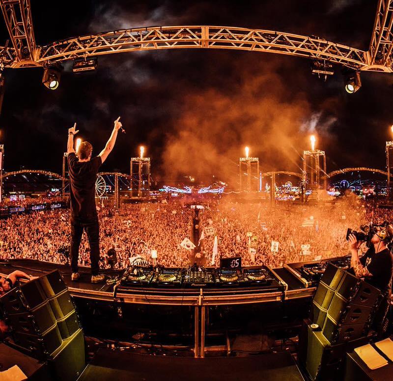 EDCラスベガス2016 人気EDM DJ LIVE音源 Instagram写真 EDC Las Vegas