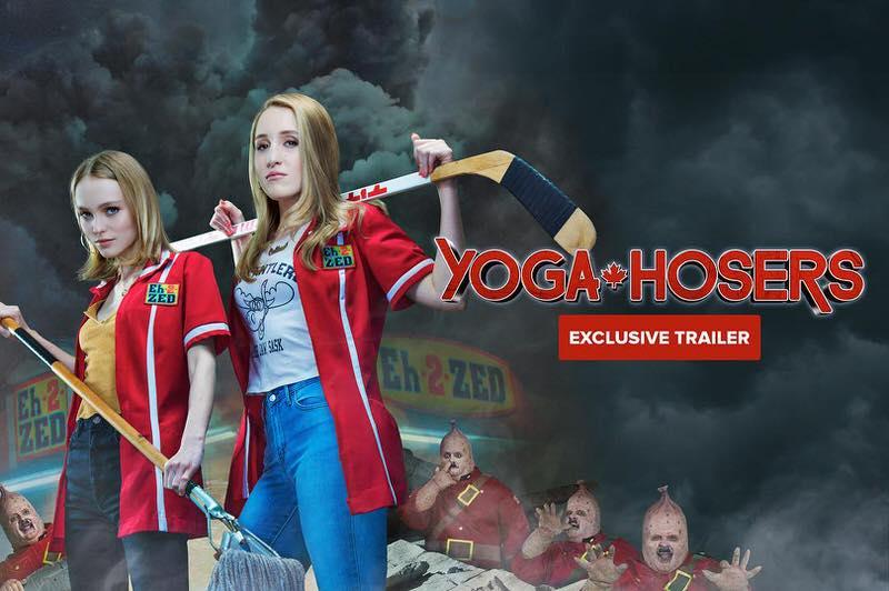 映画 Yoga Hosers ジョニーデップが娘リリーローズと共演のコメディ