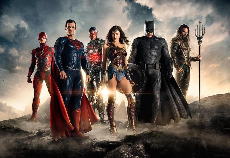 映画 Justice League ジャスティスリーグ DCコミックのスーパーヒーロー達が集結!