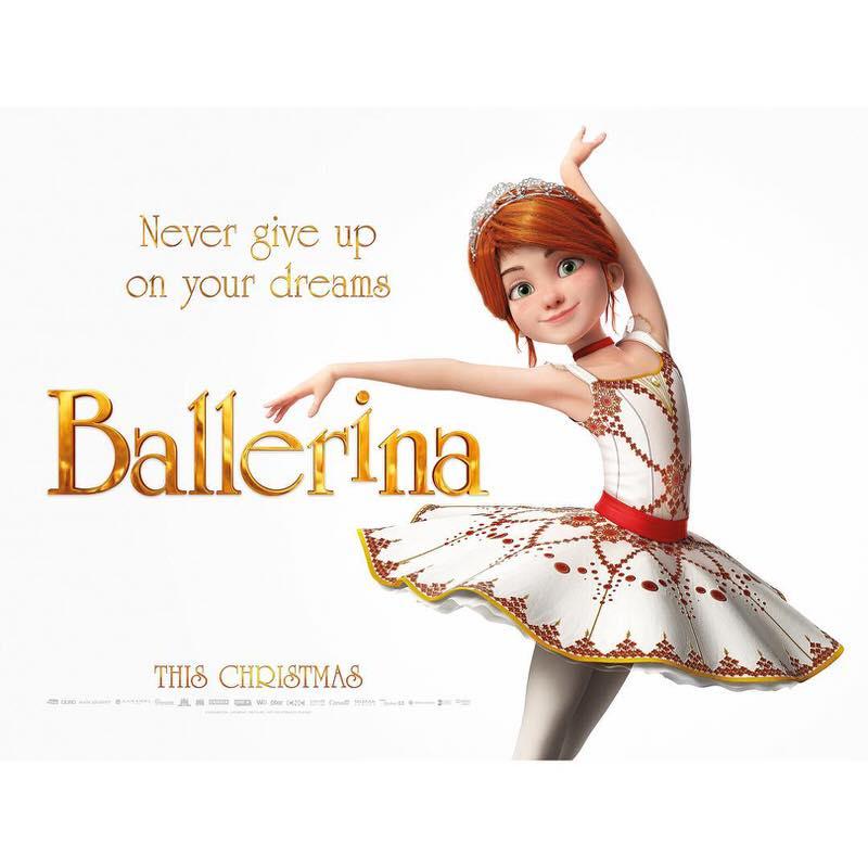 アニメ映画 バレリーナ Ballerina プロのダンサーを夢見る少女の物語