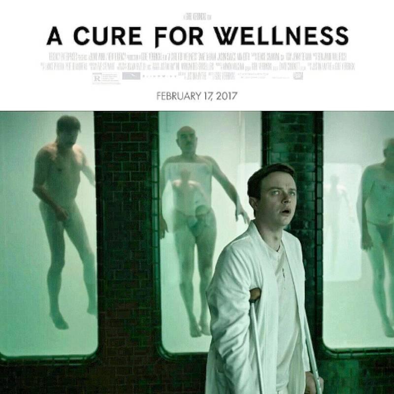 映画 A Cure for Wellness キュアフォーウェルネス デイン・デハーン主演のスリラー