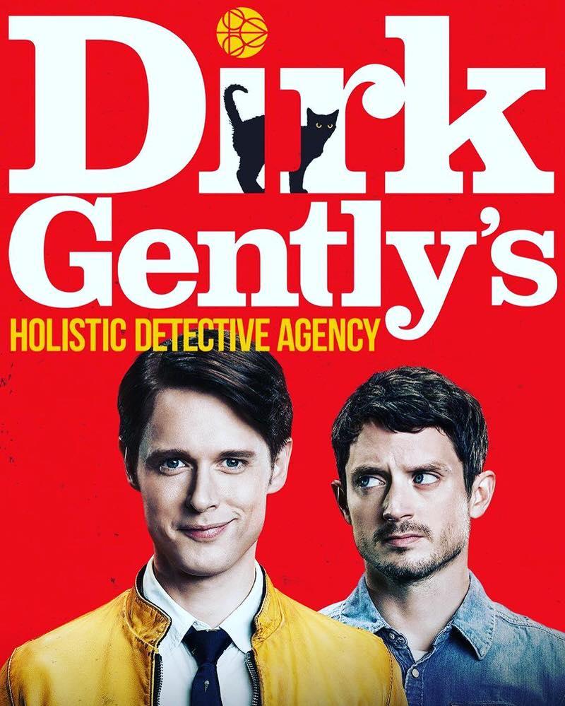 海外ドラマ Dirk Gently's Holistic Detective Agency ダークジェントリー