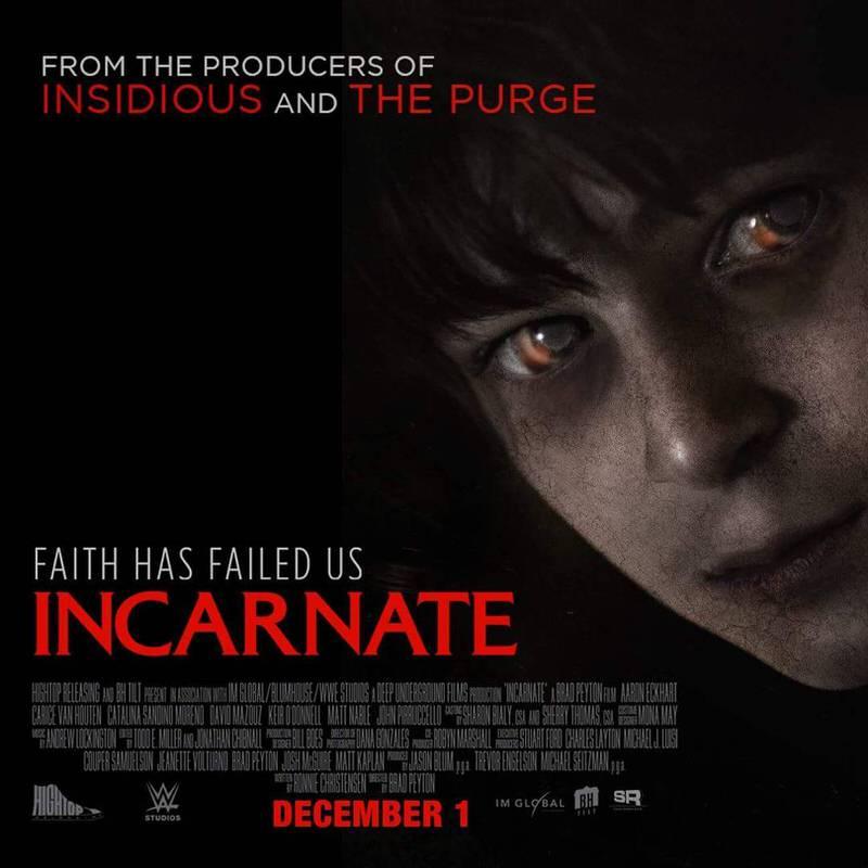 ホラー映画「Incarnate」少年に乗り移った悪魔に科学者が戦いを挑む