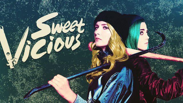 海外ドラマ「Sweet/Vicious」昼間は学生 夜は正義の味方な女子
