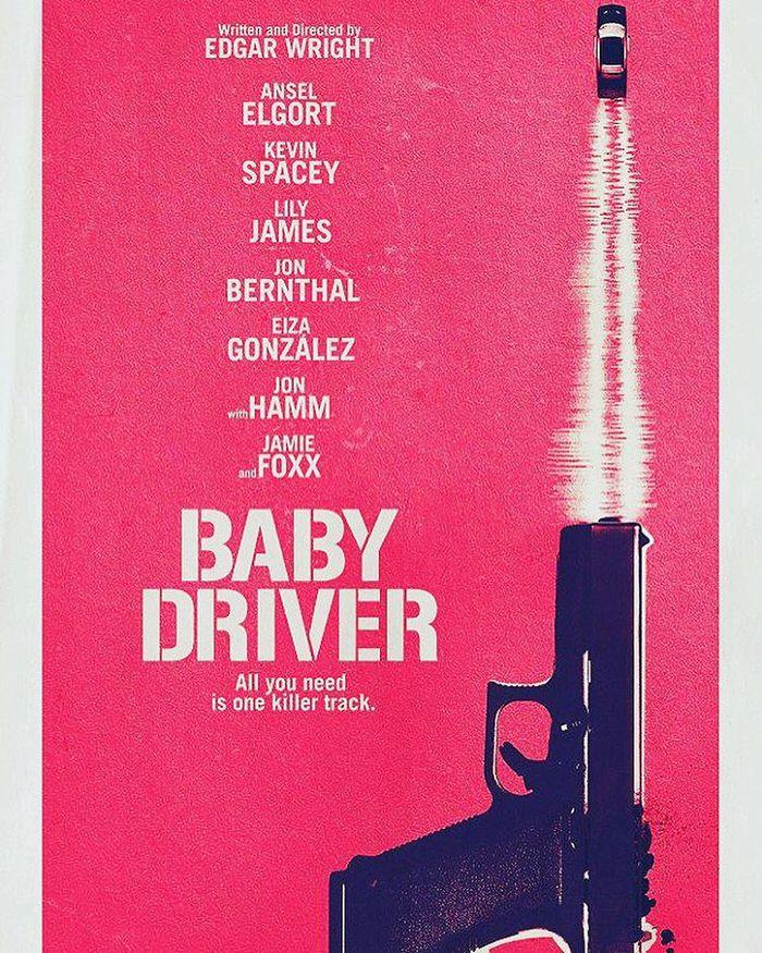 映画 Baby Driver ベイビードライバー エドガー・ライト最新作