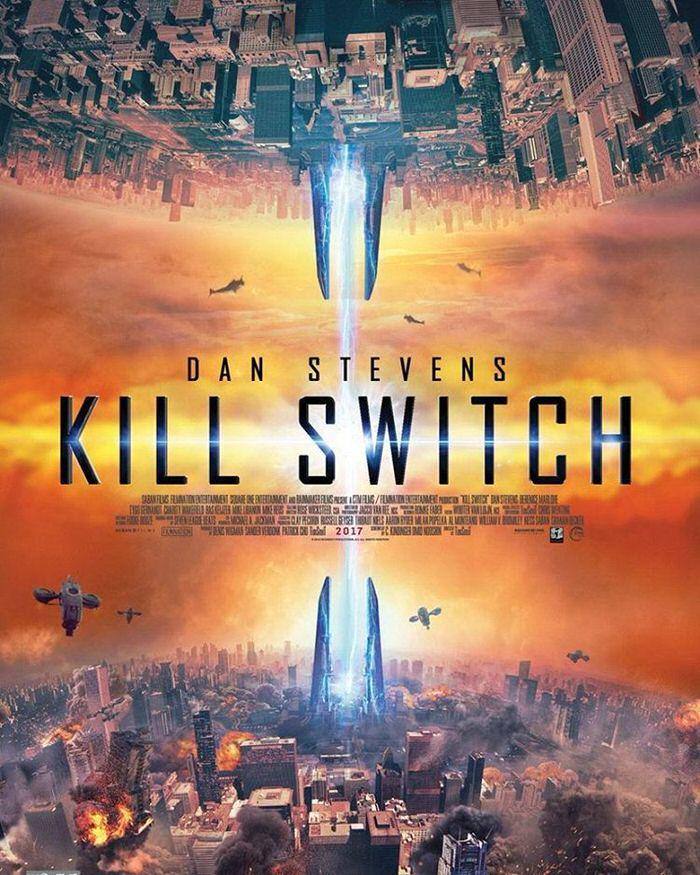 映画 Kill Switch ダン・スティーヴンスが家族と世界を救うSF作 キルスウィッチ