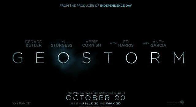 映画 GEOSTORM ジオストーム ジェラルドバトラーが世界の終わりに立ち向かう