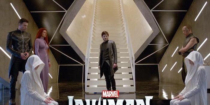 海外ドラマ「Inhumans」インヒューマンズ Marvel マーベル最新作
