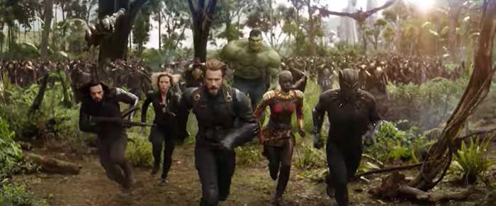 映画 アベンジャーズ:インフィニティ・ウォー Marvel最新作 人気キャラ勢揃い 2018年4月日本公開